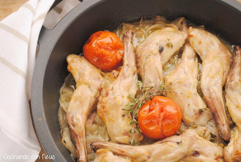 Conejo a la mostaza-cocinando-con-neus
