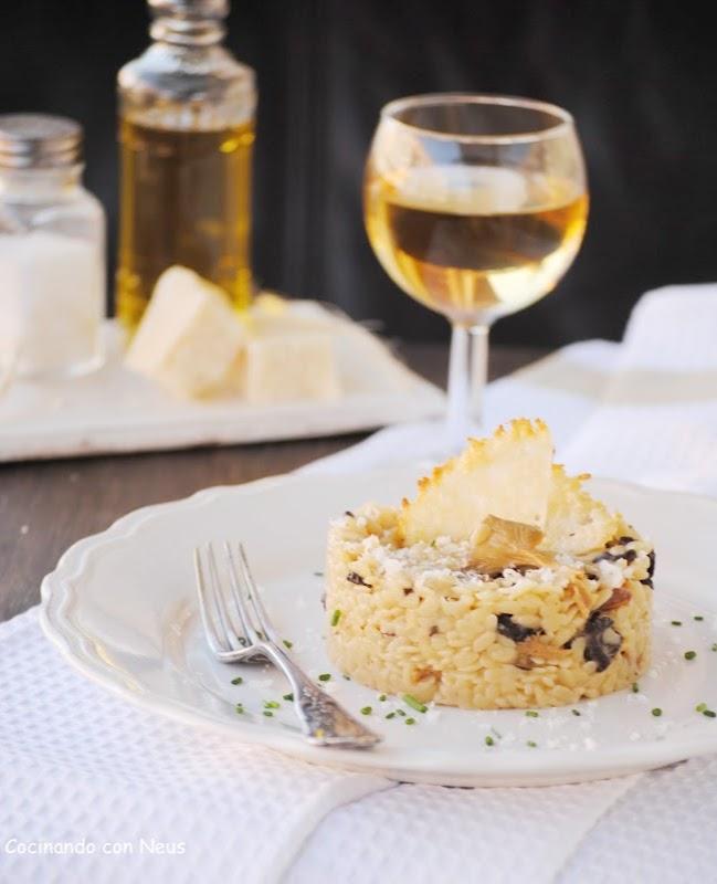 Falso risotto de puntalette y setas para Directas al grano