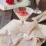 Panna cotta con fresas para celebrar Sant Jordi