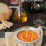 Hummus de garbanzos con pimientos asados con Thermomix