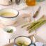 Crema de espárragos verdes con Thermomix