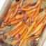 Zanahorias asadas con romero y ajo negro