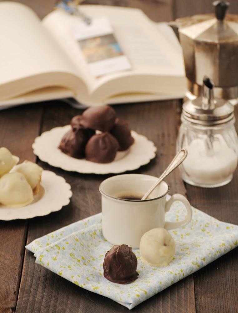 Bocaditos de speculoos bañados en chocolate
