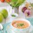 Gazpacho de manzana Granny con Thermomix