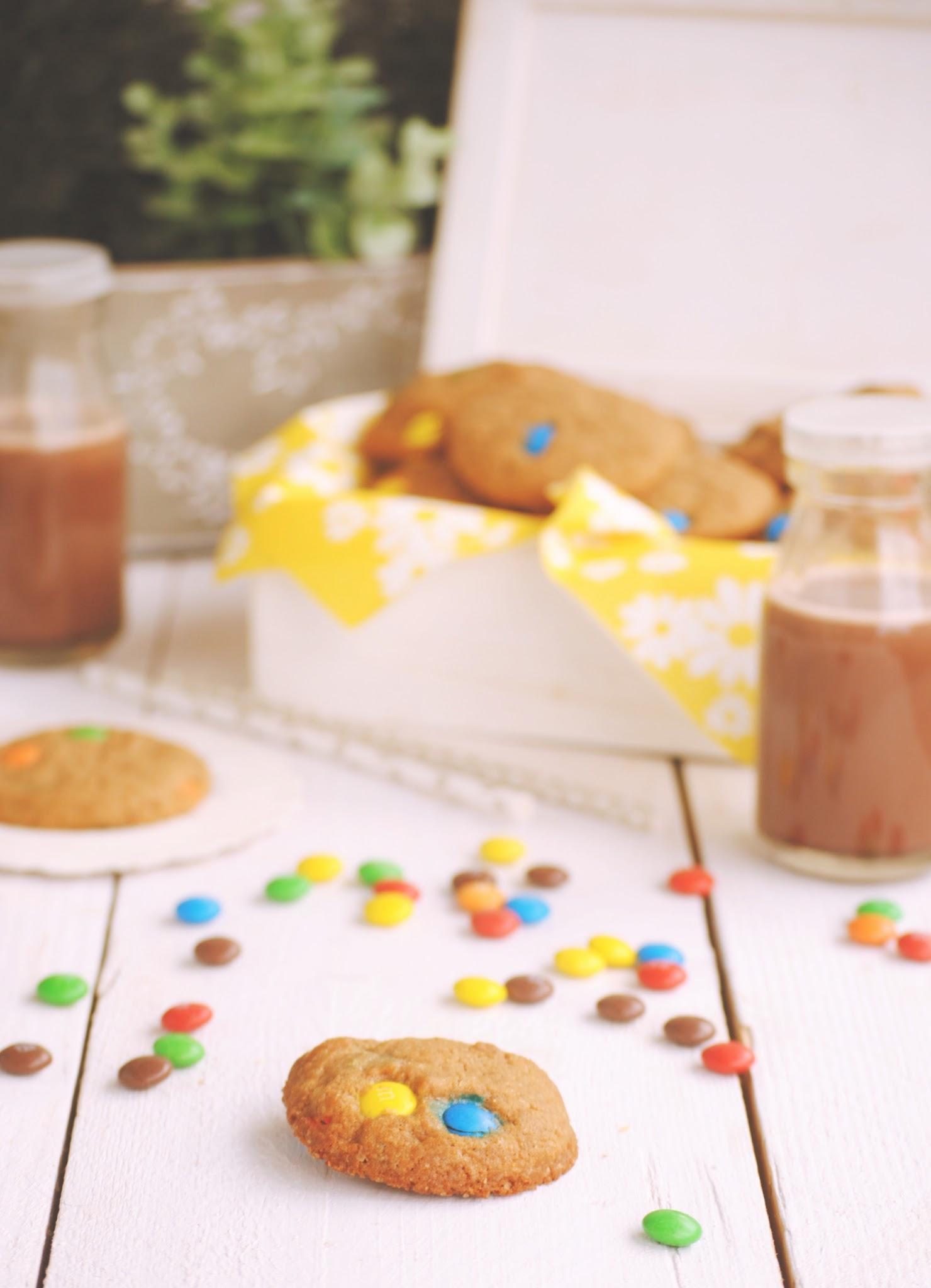 Cookies con M&M con Thermomix