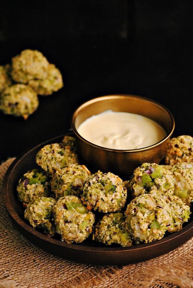 Bocaditos de brócoli con parmesano al horno para #Ulabox