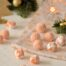 Trufas de chocolate blanco con naranja con Thermomix