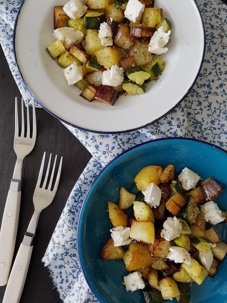 Sartenada de verduras