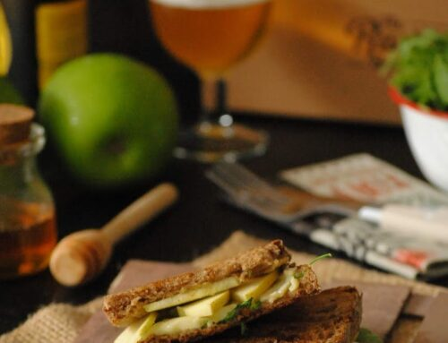 Sándwich con brie y manzana #therustikbakery