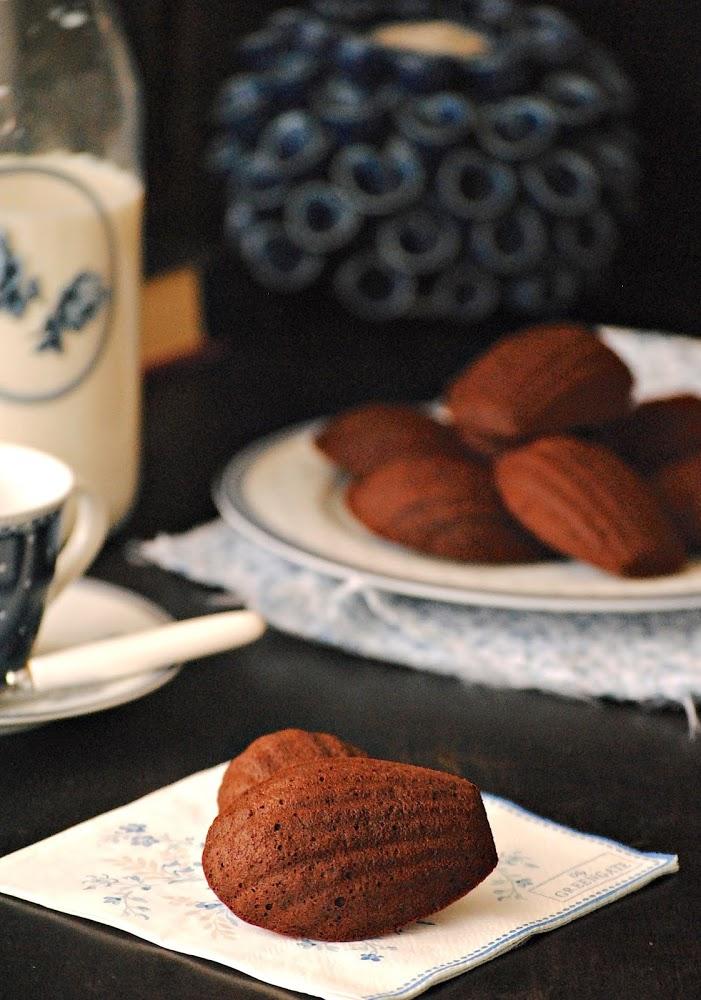 Madeleines de cacao
