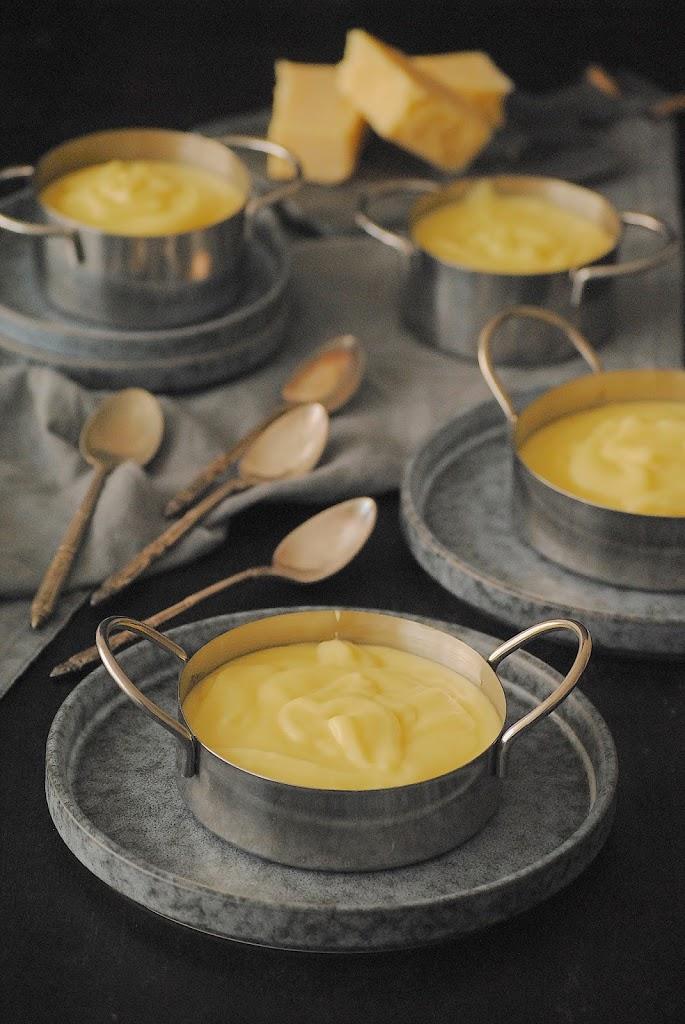 Puré de patatas con queso con Thermomix
