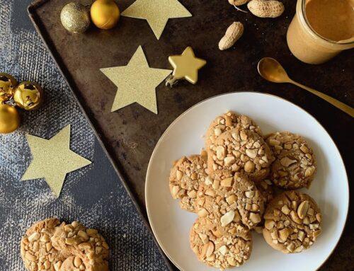 Galletas de mantequilla de cacahuete para regalar