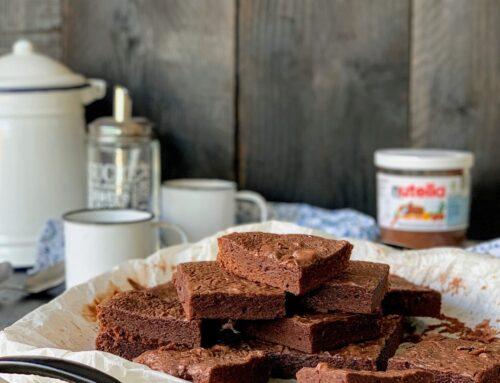 Brownie de Nutella #unpendacitodecielo