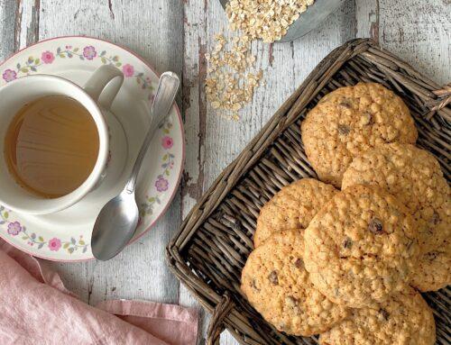 Cookies de avena by Con las zarpas en la masa