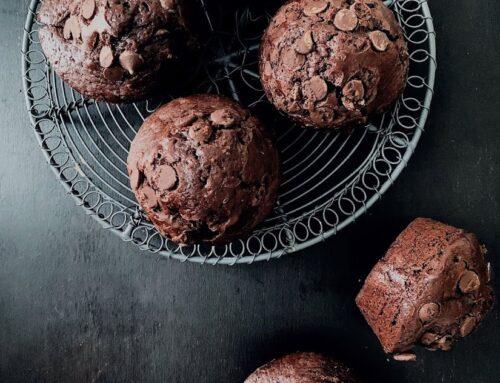 Muffins de chocolate estilo #Starbucks
