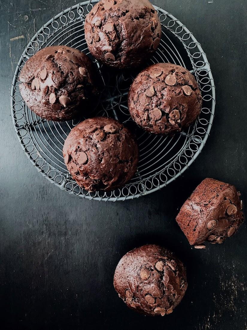 Muffins estilo Starbucks