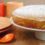 Bizcocho de claras con naranja y aroma de azahar con Thermomix