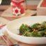Ensalada de espinacas templada con Thermomix