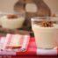 Crema de coliflor con crujiente de puerros y queso Boffard con Thermomix
