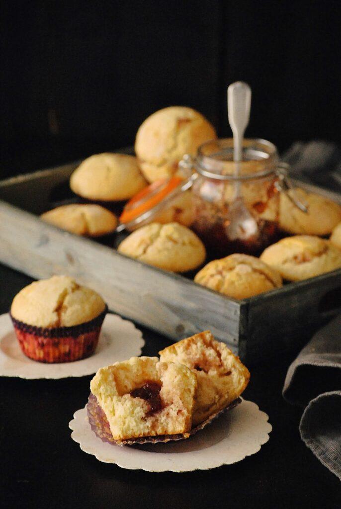 Muffins de mermelada