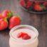 Natillas de fresa con Thermomix