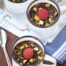 Arroz con leche chocolateado con pistachos con Thermomix