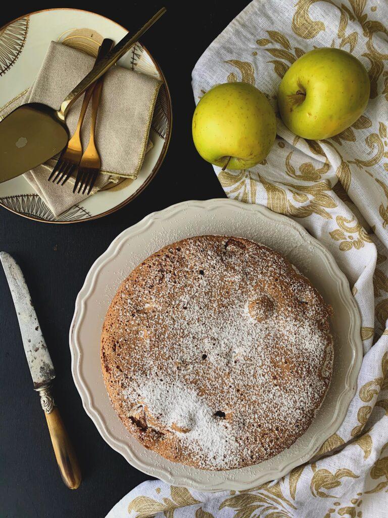 Sharlotka, tarta de manzana