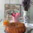 Bizcocho con mermelada de albaricoque