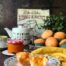 Magdalenas rellenas de mermelada de albaricoques