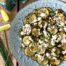 Calabacín con queso feta al aroma de limna