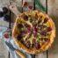 Tarta de hojaldre con higos y queso azul