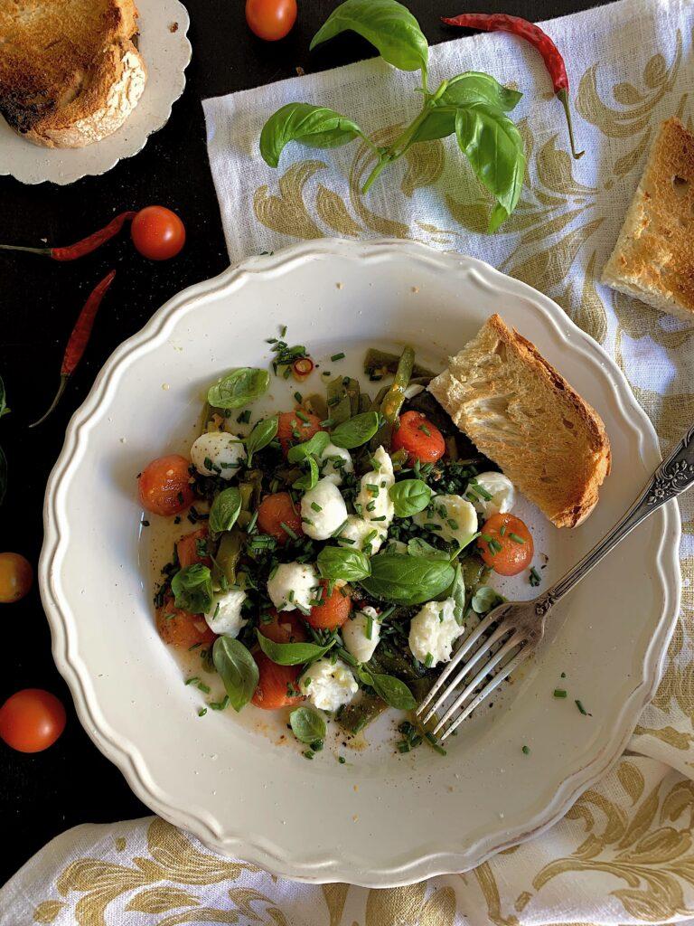 Ensalada de judías verdes de Jamie Oliver