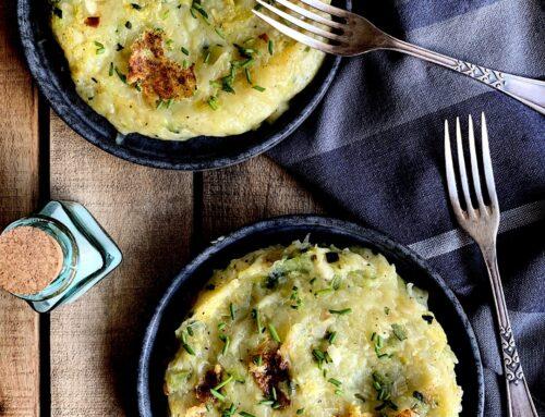 Trinxat de patata y calabacín