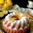 Bizcocho de lemon curd con coco