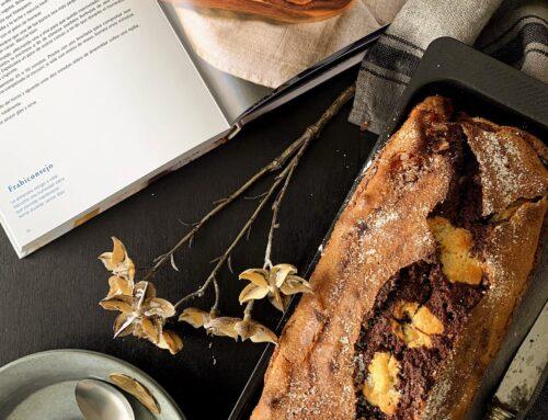 Súper cake de almendras y cacao con Thermomix