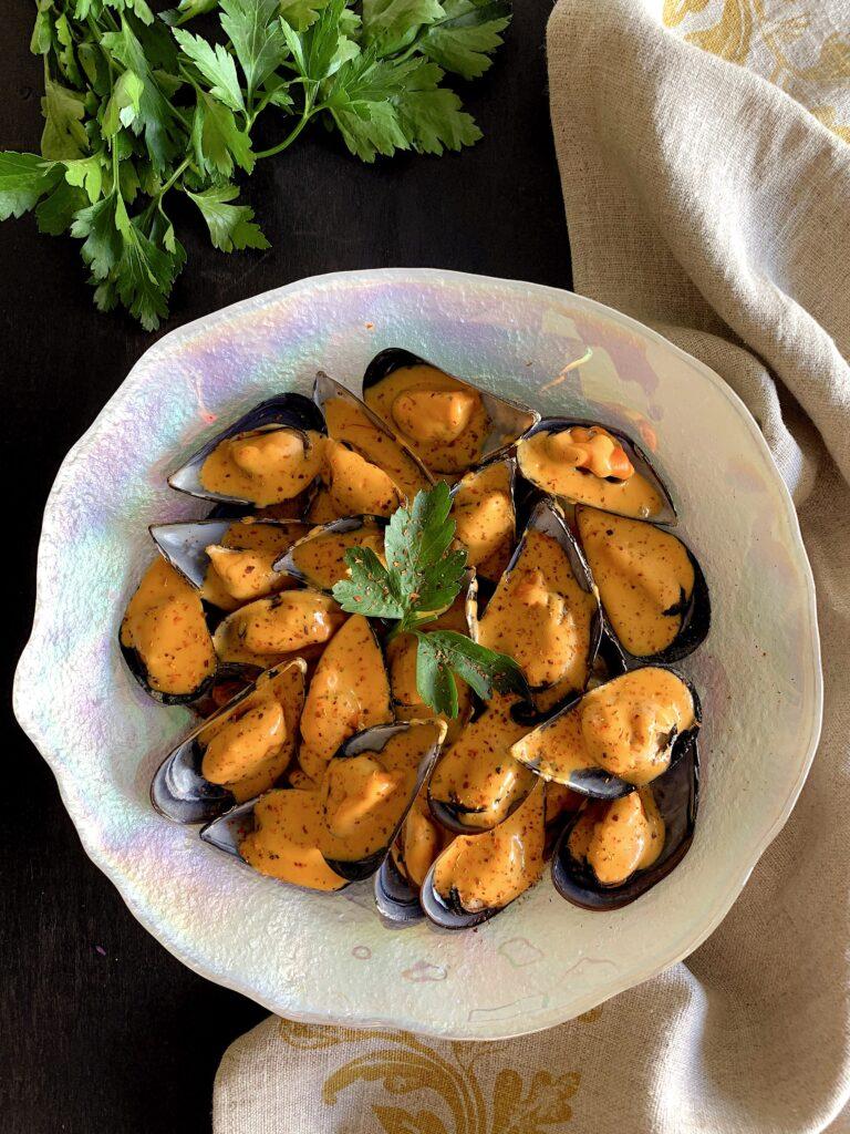 Mejillones picantes al estilo zamoranos