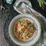Arroz con alcachofas y pimientos