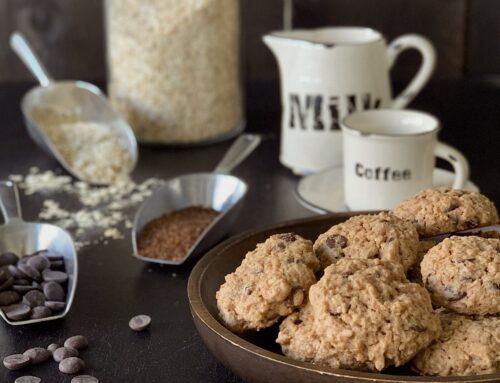 Cookies de avena y sésamo