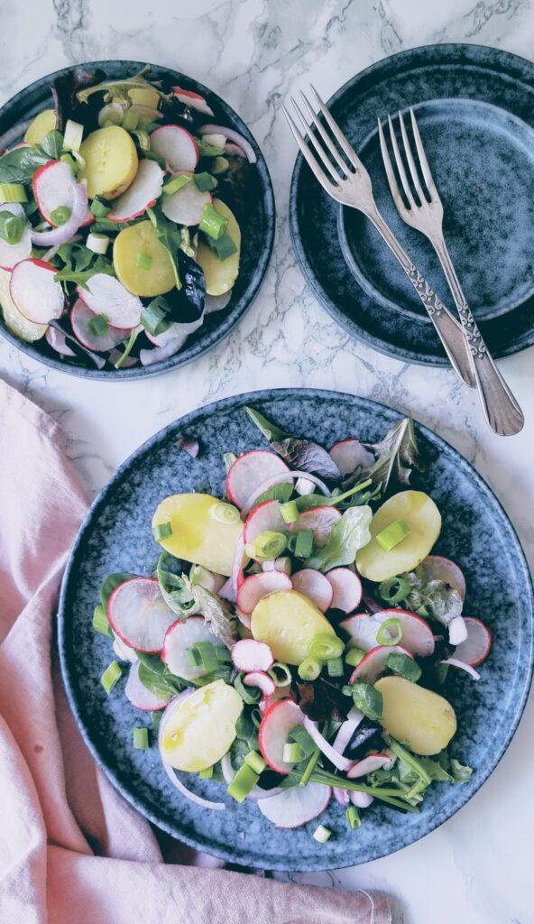 Ensalada de rábanos con aliño de lima