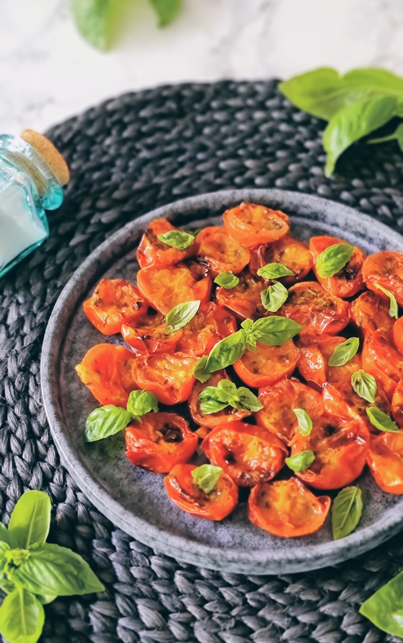 Tomates cherry asados en Air Fryer