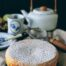 Bizcocho de crème fraïche con lima