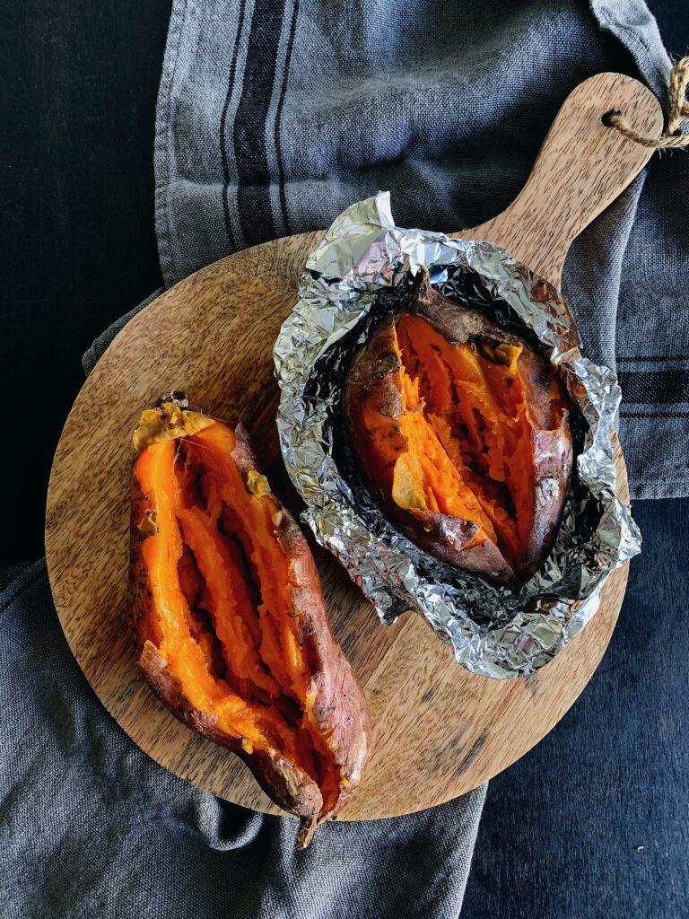 Cómo asar los boniatos al horno