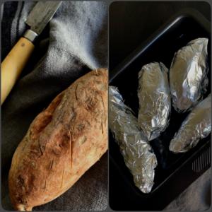 Cómo asar boniatos al horno